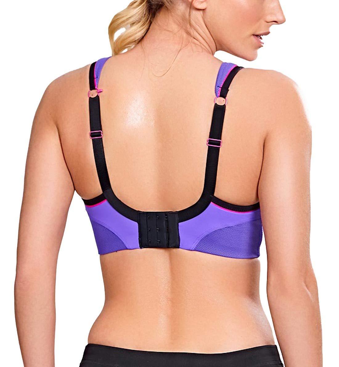 Panache Wireless Sports Bra (7341) 28DD/Purple/Pink by Panache (Image #2)