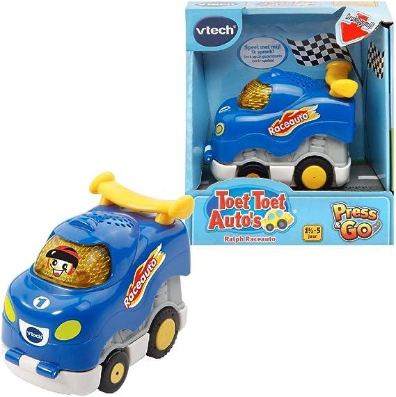 VTech Toet Toet Autos Press & Go Ralph Raceauto - Juegos educativos (Multicolor, Niño/niña, 5 año(s), Holandés, De plástico, CE) , color/modelo surtido: Amazon.es: Juguetes y juegos