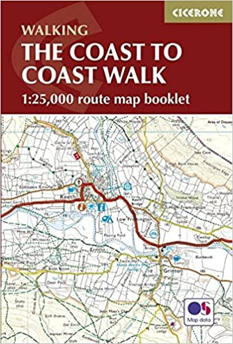 The Coast to Coast Walk Map Booklet (1:25, 000 route map) (British