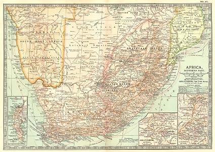 Amazon.com: SOUTH AFRICA. Botswana, Namibia; Cape Town, Johannesburg ...