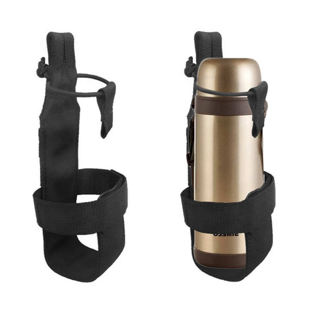 Nylon táctico Molle botella de agua soporte para mochila al aire libre Camping cinturón Bottle Carrier, Army Green TwinkBling