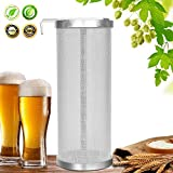 #9: Hop Filter Spider Strainer Stainless steel Beer Mesh Strainer for Home brew Kegging equipment 300 Micron (Filter silver 1)