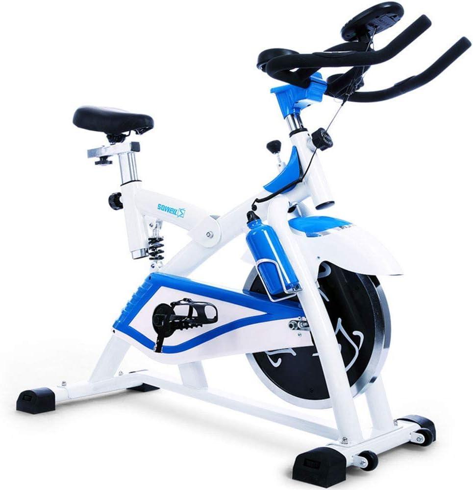 MJ-Sports Bicicleta de Ejercicios silenciosa para Interiores ...