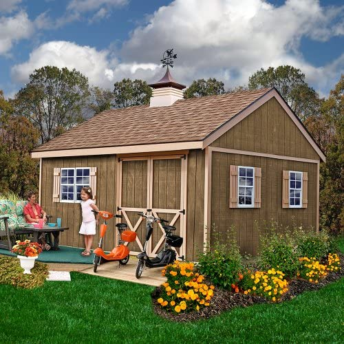 Best Barns New Castle 12 X 16 Wood Shed Kit