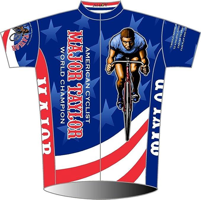 MAJOR TAYLOR TSHIRT CYCLING CYCLIST JERSEY ROAD BIKE CLUB BLACK AMERICAN BOOK