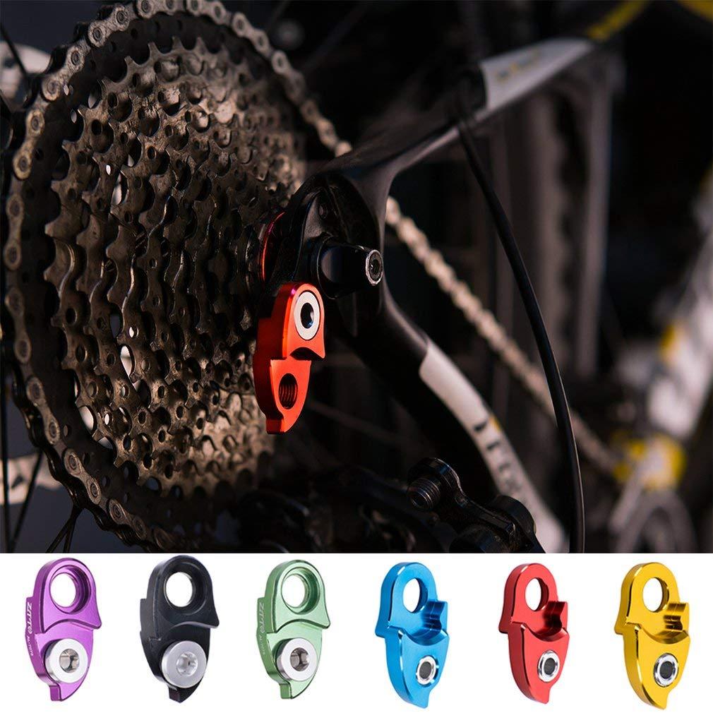 Kitechildhood Aluminum Alloy MTB Mountain Bike Rear Hanger Derailleur Extension Extender Gold