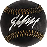 Starling Marte Pittsburgh Pirates Autographed Black Leather Baseball - Fanatics Authentic Certified - Autographed Baseballs