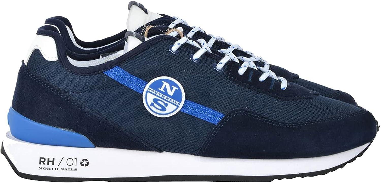 NORTH SAILS Zapatillas de ante y microrete.