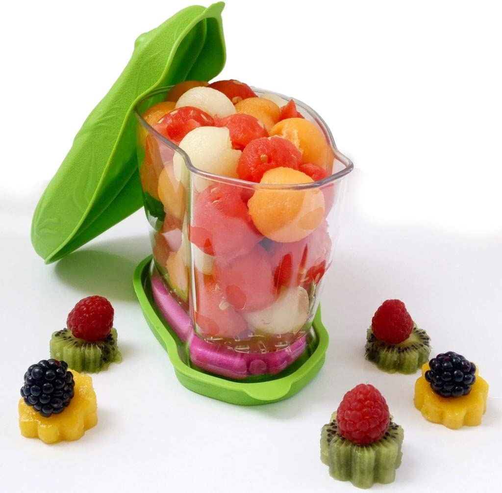 Fiambrera para la ensalada, para viajes, para almuerzo, para frutas, para niños, con acumulador de frío y bolsa isotérmica, 0,9 L, 6 horas de tiempo de refrigeración (sin BPA ni hormonas restres)