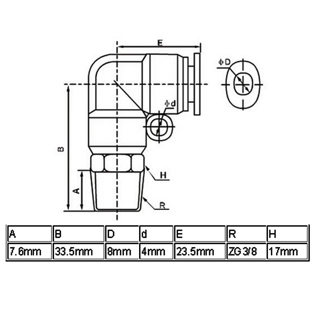 83 x 0.9 mm FIXMAN 686967 Placca ad Angolo Set di 10 Pezzi Silver
