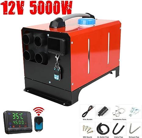 per Interni Monitor LCD di visualizzazione a 4 Fori per Il Riscaldamento di Auto di casa di Magazzino 12 V 12V Riscaldatore dAria Diesel 5000 W