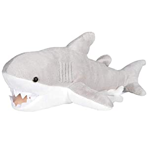 "Wildlife Tree 13"" Great White Shark Plush Stuffed Animal Floppy Ocean Species Collection"
