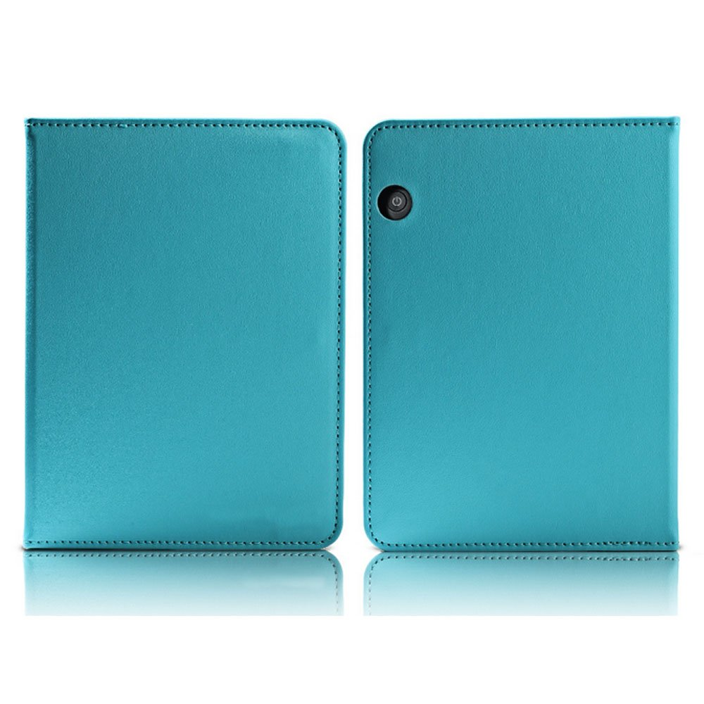 Eastlion Lightweight Durable Cover Case Business Man for Kindle Paperwhite1/2/3 Blue