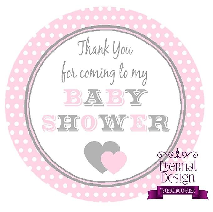 Eternal Design 35 x 37mm Baby Shower White Stickers BSCS 3
