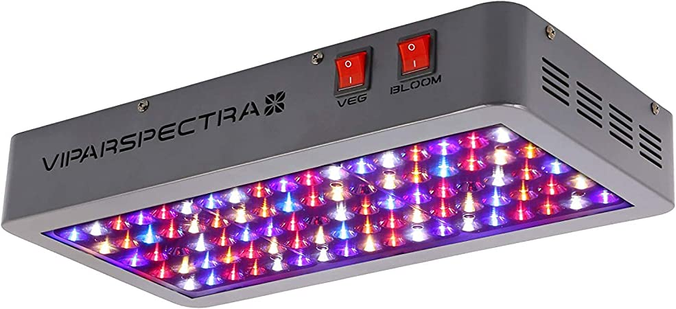 Amazon.com : VIPARSPECTRA UL Certified 450W LED Grow Light, with Daisy  Chain, Veg and Bloom Switches, Full Spectrum Plant Growing Lights for  Indoor Plants Veg and Flower : Garden & Outdoor