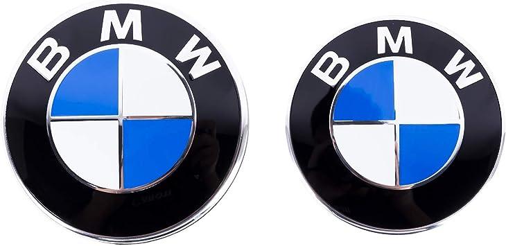 STEMMA COFANO BMW 82 MM LOGO EMBLEMA FREGIO BADGE 82MM PORTELLONE ABS SERIE 1 3