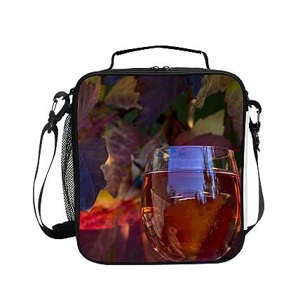 379977f9f321 Amazon.com - Levendem Grape Wine Grape Wine Lunch Bag/Lunch Box ...