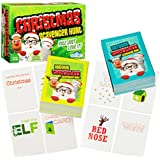 Christmas Scavenger Hunt Game - Includes 220 Cards with Holiday Themed Objects Found both Inside and Outside the Home (Ages 6+)