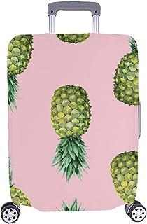 Couverture de Valise de Protecteur de Bagage de Voyage d'ananas de Spandex de Fruit d'ananas de Fruit 28,5 x 20,5 Pouces tao-1789-20190129