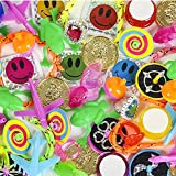 50 Pc. Prize Box Treasure Assortment - Party Bag Fillers Fun Pinata Toy Supplies for Kids - Great For Students, Elementary Schools, Party Favors, Grab Bag Stuffer, Giveaways, Novelty Toys
