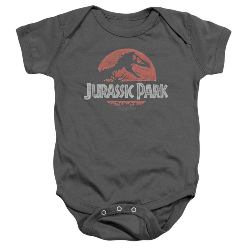 Infant: Jurassic Park - Faded Logo Onesie Infant Onesie 1 x 1in