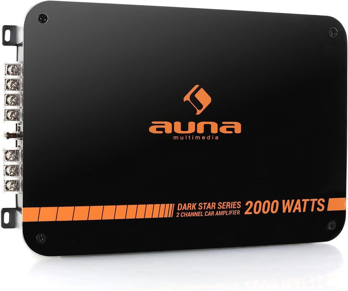 Auna Dark Star 2000 Hifi Verstärker Mit 2000 Watt New Elektronik