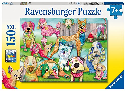 Price comparison product image Ravensburger -Patchwork Pups - 150 pc Puzzle