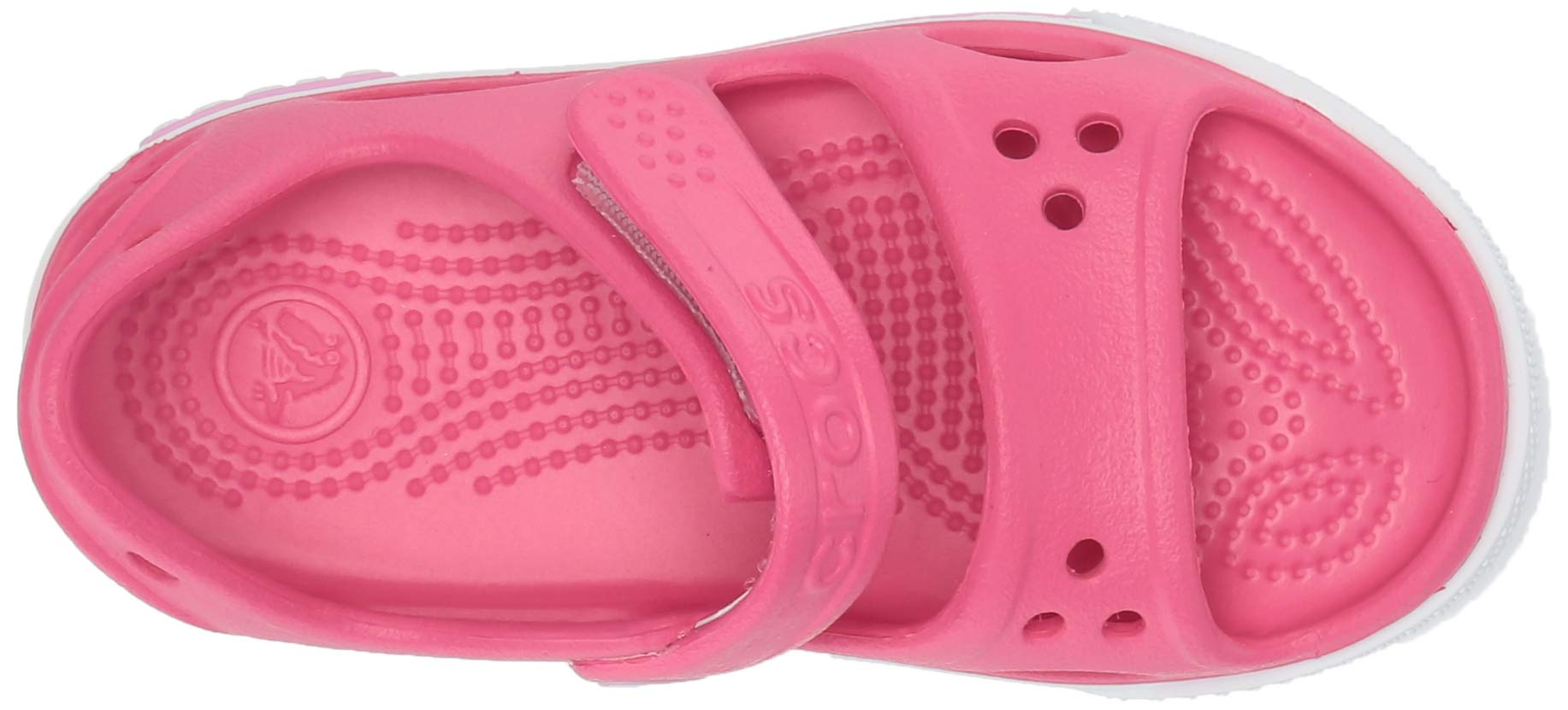 Crocs Kid's Boys and Girls Crocband II Sandal | Pre School, Paradise Pink/Carnation 6 M US Toddler by Crocs (Image #8)