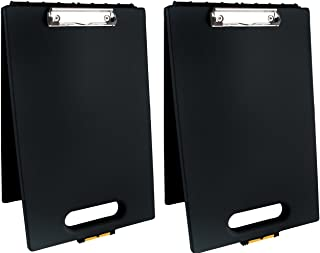 product image for Dexas 1717-912PK Office Clipcase Storage Clipboard, Set of Two, Black, 2 Piece