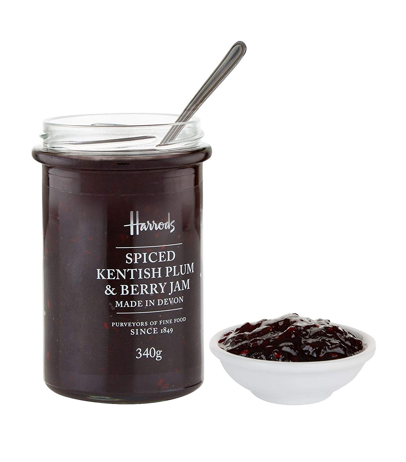 Harrods of London England Spiced Plum & Berry Jam (11.99 oz ...