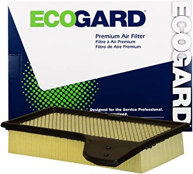 EcoGard XA10421 Premium Engine Air Filter Fits Ford 2.3L 5.0L 2015-2020 Mustang 3.7L 2015-2017