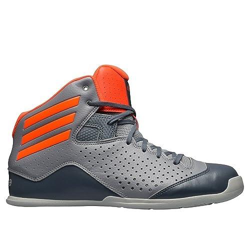 adidas - Zapatillas de Baloncesto de Sintético para Hombre Gris ...