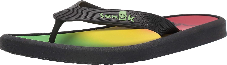 Sanuk Men's Sidewalker Flip-Flop