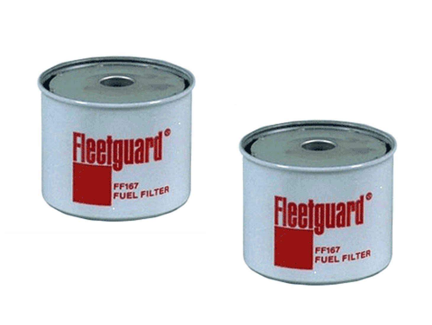 Ff167 Fleetguard Tractor Fuel Filter Multipack Of 2 Bobcat Filters Fits Allis Chalmers Case Ih Ford Gehl Farmall John Deere Kubota