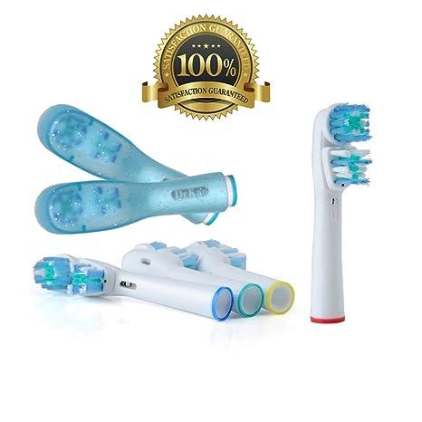 Dr. kao® Pack de 8 cabezales para cepillo de dientes eléctrico con 2 cabezales