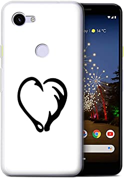 Eswish Coque Gel Tpu De Coque Pour Google Pixel 3a Coeur