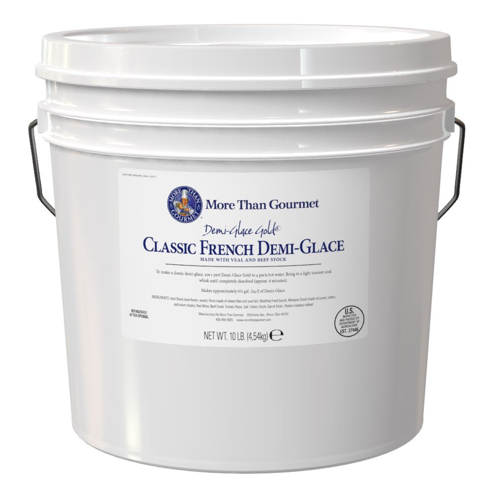 More Than Gourmet Demi-Glace Gold, Classic French, 160 Ounce by More Than Gourmet