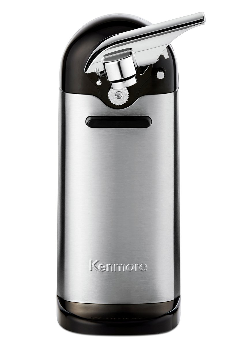 Kenmore 81101 Electric Can Opener in Stainless Steel