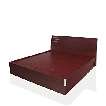 Royal Oak Barcelona Queen Bed With Hydraulic Storage (Honey Brown)