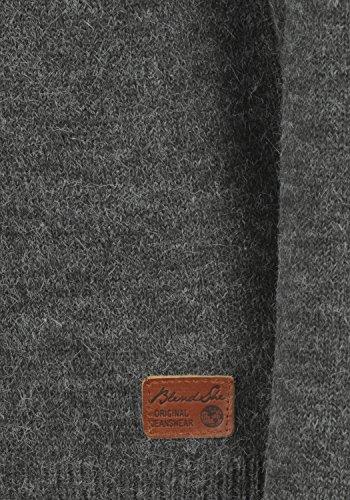 BLEND SHE Nele - Maglione da Donna, taglia:S;colore:Pewter Mix (70817)