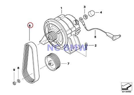 bmw motorcycle r1200rt wiring diagram detailed schematics diagram classic car wiring diagrams amazon com bmw genuine motorcycle generator ribbed v belt 4pk582 r bmw motorcycle r1200rt wiring diagram