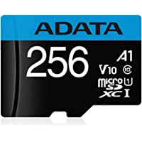 ADATA Premier 256GB UHS-I / Class 10 MicroSDHC Memory Card with SD Adapter