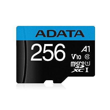 ADATA Premier Memoria Flash 256 GB MicroSDXC Clase 10 UHS-I ...