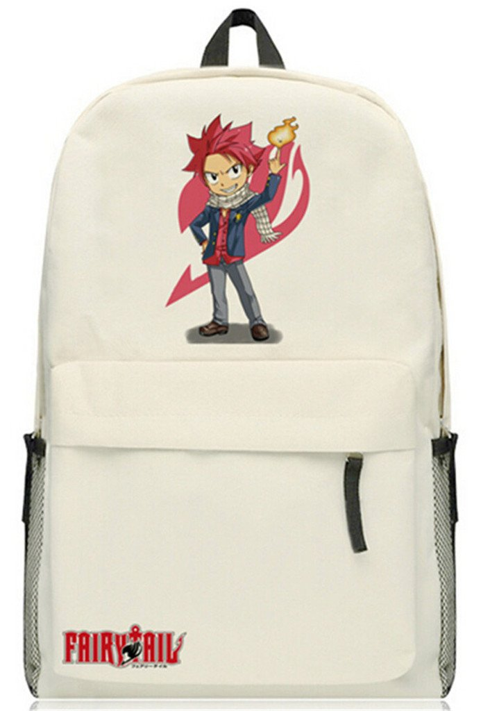 0ce40b6d3f YOYOSHome Fairy Tail Anime Natsu Dragneel Cosplay Rucksack Backpack School  Bag hot sale