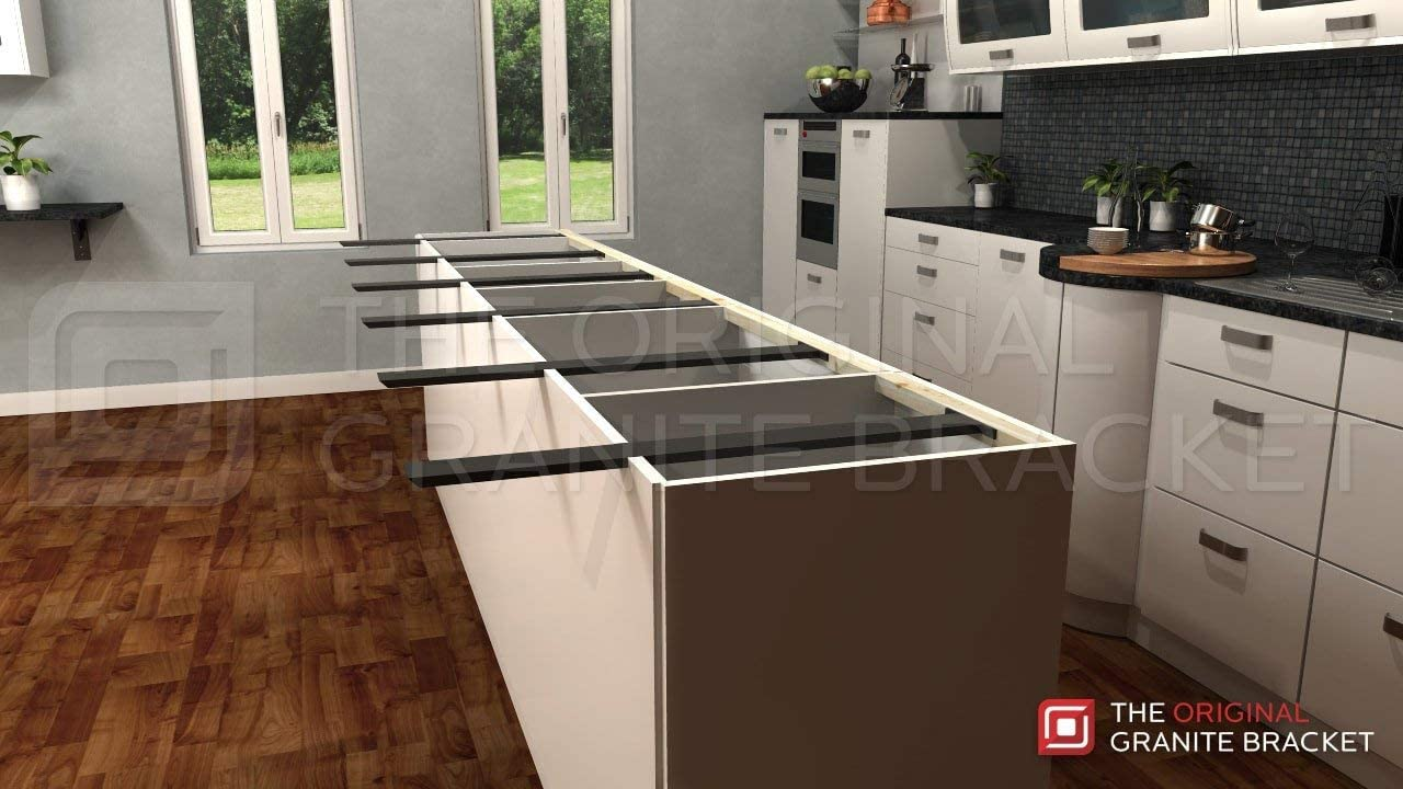 Amazon Com Kitchen Island Support Bracket 30 Inch Home Improvement