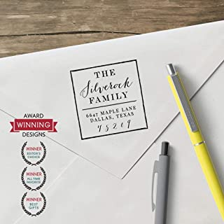 product image for World'S Favorite Custom Address Stamp – Three Designing Women, The Silverock Design (CSAA10021S Design Clip only)