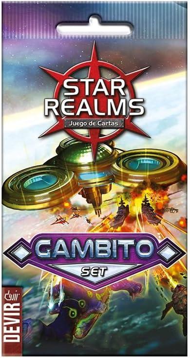 Devir- Star Realms Gambito Set, Miscelanea (BGSRGAM): Amazon.es: Juguetes y juegos