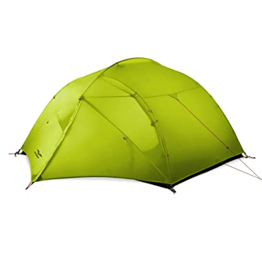 MIER 3 Person Camping Tent Lightweight Outdoor Backpacking Tent with Footprint, Waterproof & Easy Setup (3 Season & 4 Season)