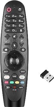 Nuevo Mando a Distancia el Control Remoto LG del para LG Smart TV w/ AI ThinQ, no se Requiere configuración del televisor Control Remoto Universal LG AN-MR18BA AN-MR19BA AN-MR650A: Amazon.es: Electrónica