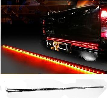 Amazon vsek auto tailgate light bar led tail light strip vsek auto tailgate light bar led tail light strip waterproof running reverse brake turn signal for aloadofball Gallery